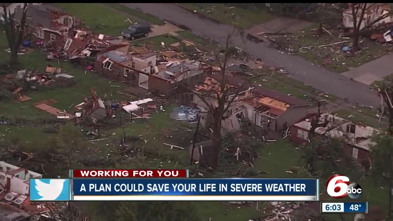 More than 20 people were inside the Starbucks when a tornado demolished the building. No one inside the coffee shop was killed.