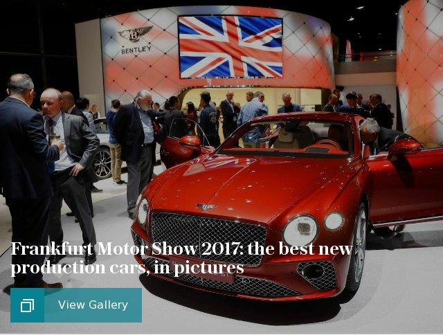 Frankfurt Motor Show 2017: the best new production cars, in pictures