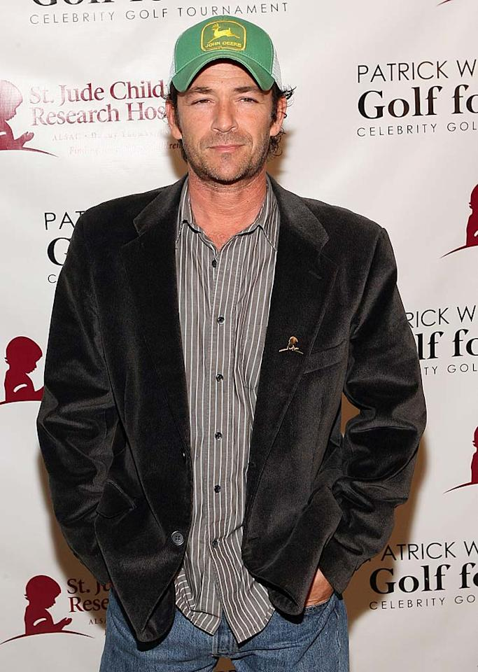 "Luke Perry (""Beverly Hills, 90210"") turns 45.  Jesse Grant/WireImage.com - March 5, 2011"