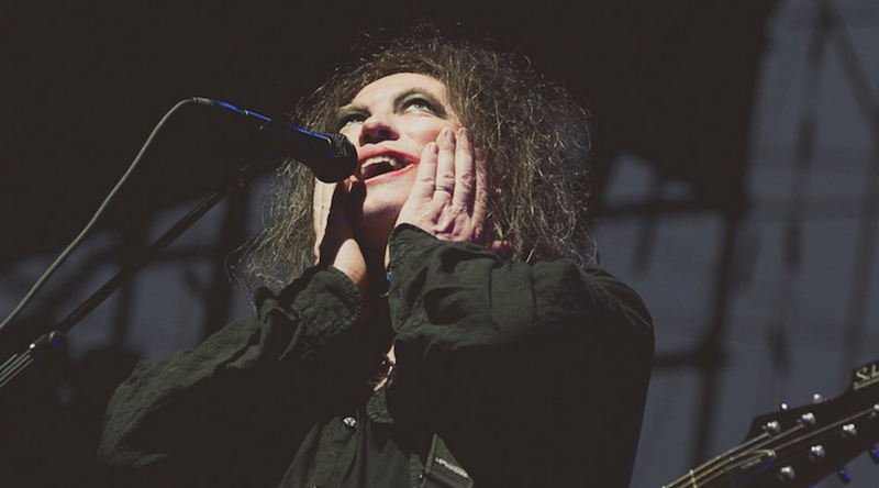 Robert Smith says The Cure have three new albums in the works