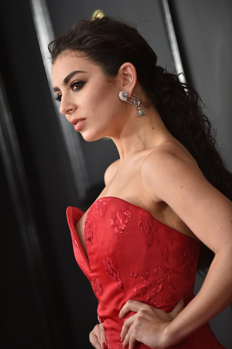 Charli XCX attends the 59th GRAMMY Awards at STAPLES Center on February 12, 2017 in Los Angeles, CA, USA.