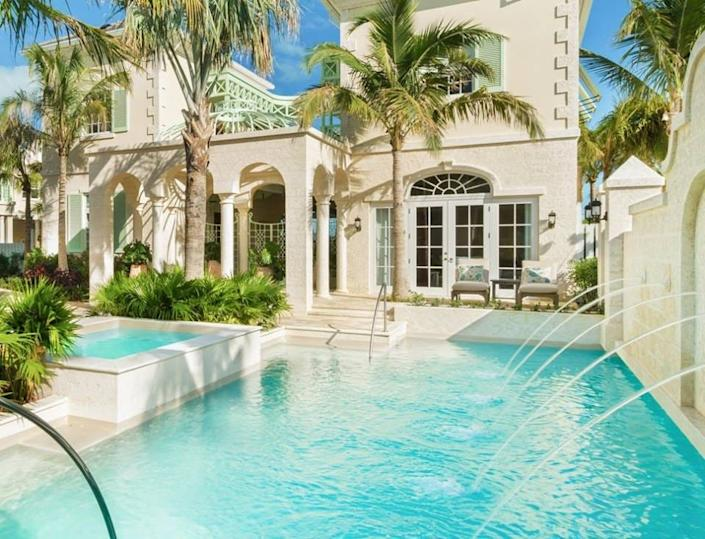 In Turks and Caicos Islands, villas offer social distancing at The Shore Club.