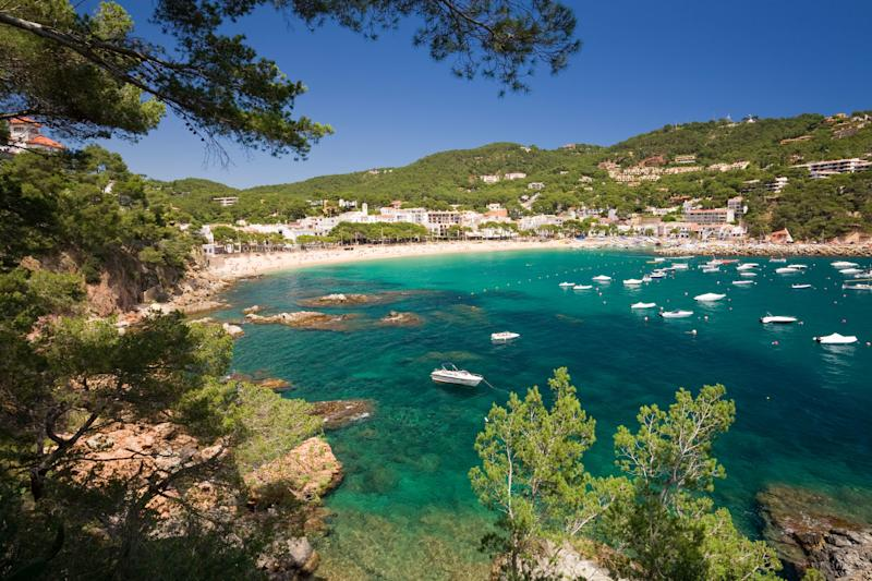 Costa Brava holidays cost 126 per cent more when the kids break up - Credit: ALAMY