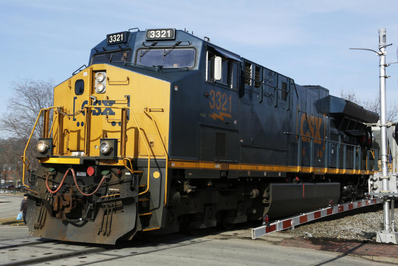csx 2q profit jumps as railroad keeps cutting expense