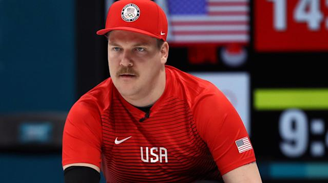 It's Mario time for one American athlete competing at Pyeongchang 2018.