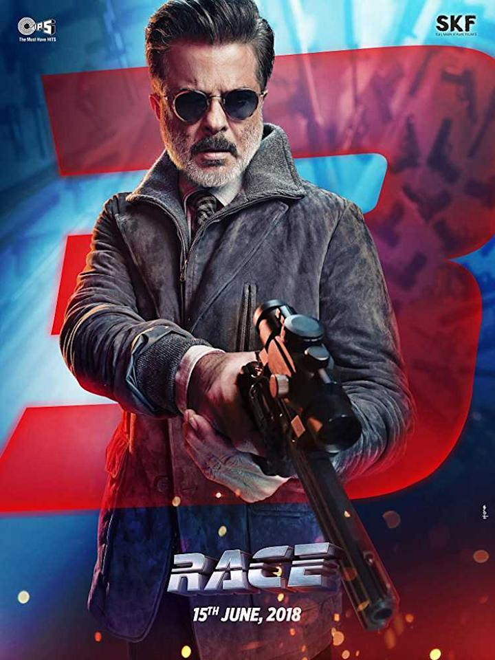 <p>Anil Kapoor plays Shamsher. He is the only actor and character that has been constant in all the three 'Race' movies. </p>