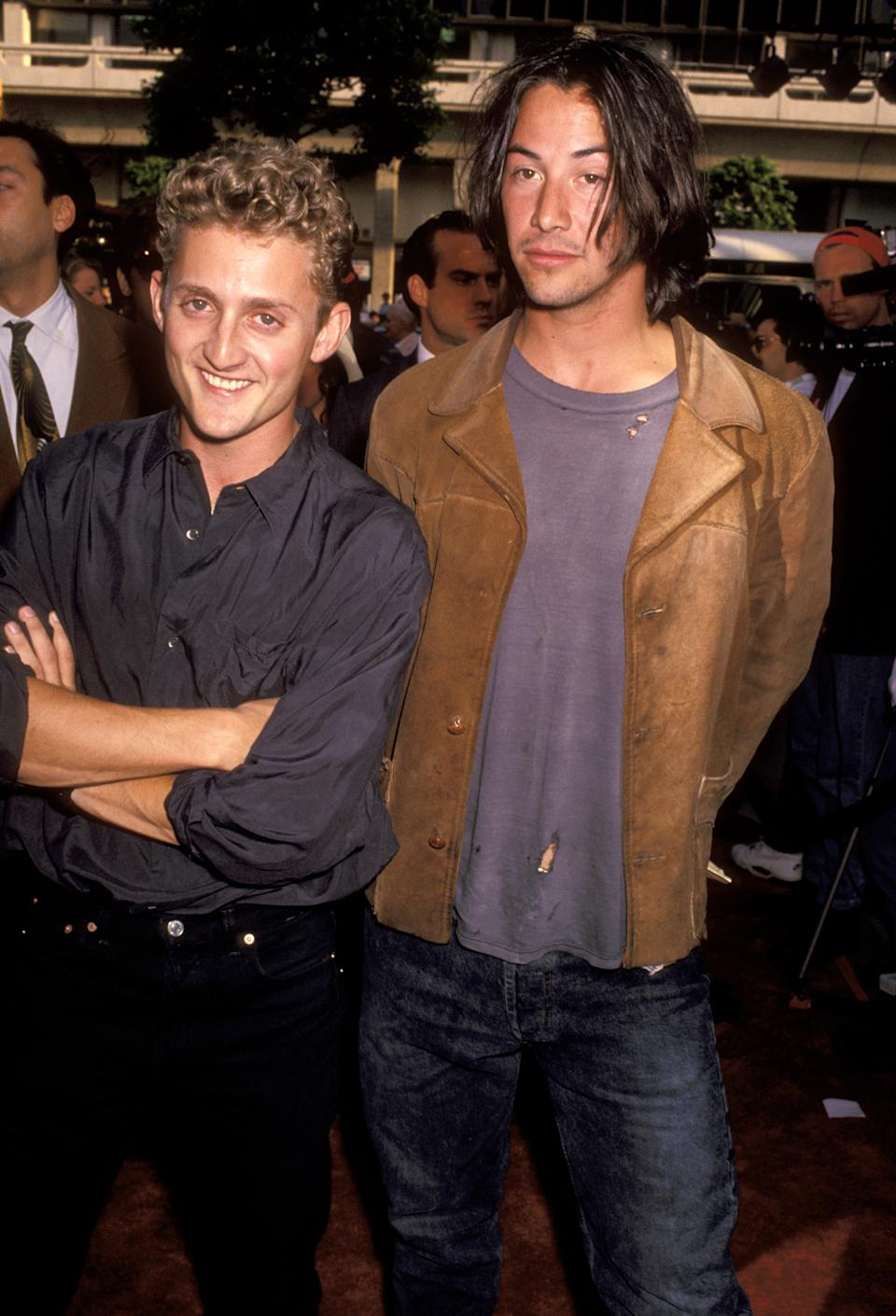 Alex Winter and Keanu Reeves (Photo by Ron Galella/Ron Galella Collection via Getty Images)