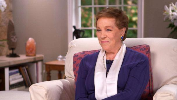 PHOTO: Julie Andrews sits down for an exclusive interview with Diane Sawyer. (ABC News)
