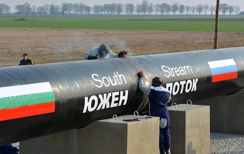 Bulgaria's premier outlines plans for a proposed new project to bring gas from Russia and elsewhere to Europe, following the failure of the South Stream project