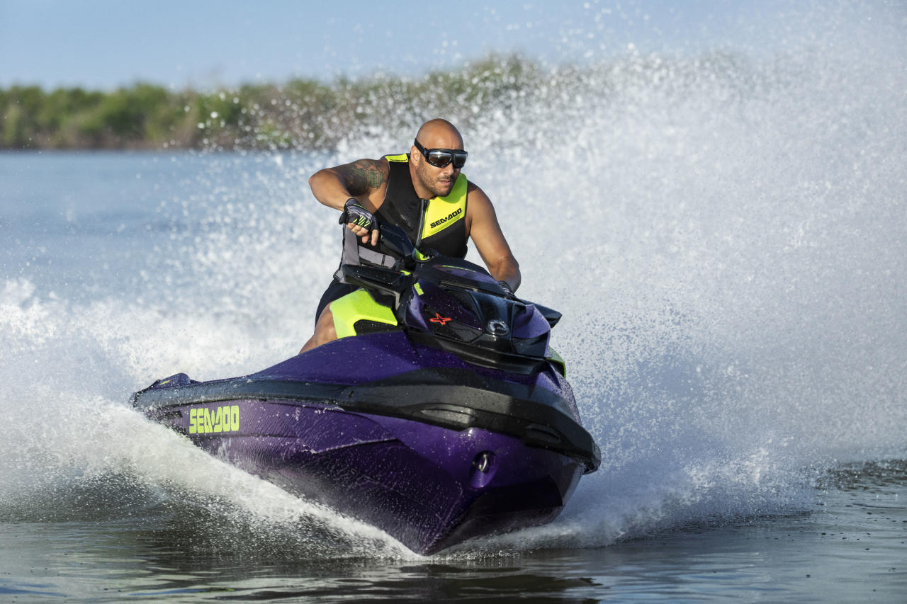 Oh Yes It S That Fast The All New 2021 Sea Doo Rxp X 300 Takes Personal Watercraft Performance To Another Level