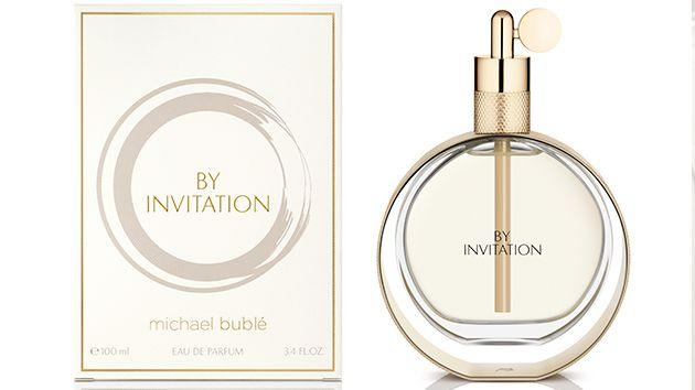 Michael bubl launches by invitation luxury continues in the design of the box the rich and opulent colour combination of cream and gold evokes the high quality of the fragrance stopboris Choice Image