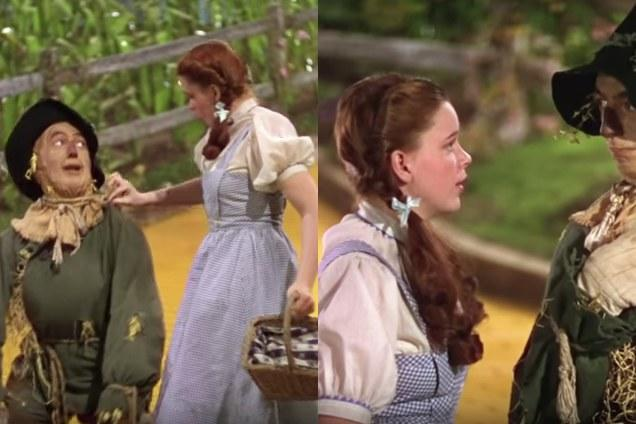 <p>Even the magic of the great and powerful Oz couldn't save this favorite flick from one now-famous continuity mistake. If you watch closely, the length of Dorothy's perfectly ringlet-ed pigtails repeatedly changes throughout the classic film.</p>