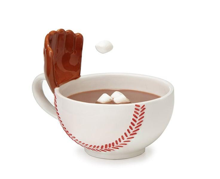 <p><span>The Mug With a Glove</span> ($25) sports mug also comes in hockey, basketball, soccer, and football versions.</p>