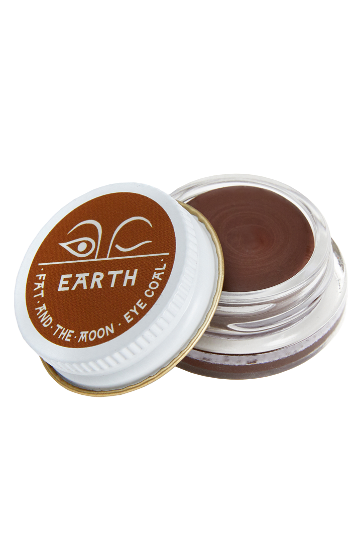 "<p><strong>Fat and the Moon</strong></p><p>fatandthemoon.com</p><p><strong>$18.00</strong></p><p><a href=""https://www.fatandthemoon.com/products/earth-eye-coal"" rel=""nofollow noopener"" target=""_blank"" data-ylk=""slk:SHOP IT"" class=""link rapid-noclick-resp"">SHOP IT</a></p><p>Eyes are a great place to use a multi-purpose product and I love the line Fat & the Moon. The ""Earth"" color is great for my brows and doubles as a smudgy brown liner if I need an extra punch. The waxiness of this formula means very little drag or smearing.</p>"
