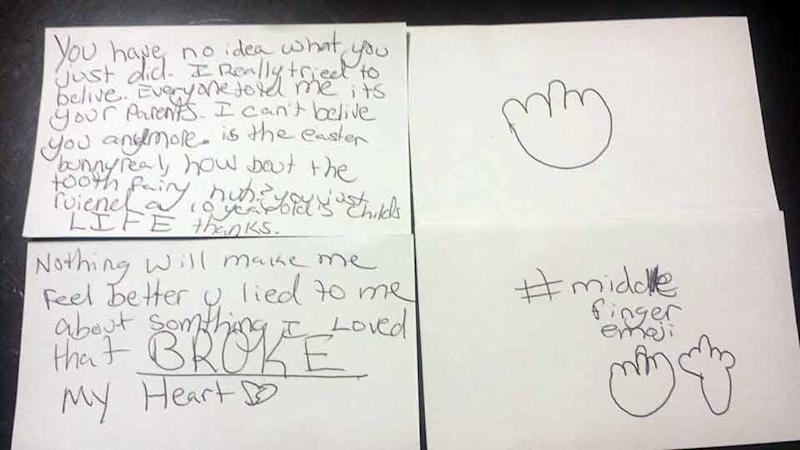 10 year olds angry letter to parents about santa you broke my heart the struggle is real for a precocious 10 year old girl who learned the truth about santa and became furious with her parents as a result so furious that spiritdancerdesigns Choice Image
