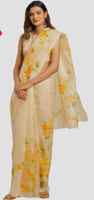 Grace any occasion with organza sarees