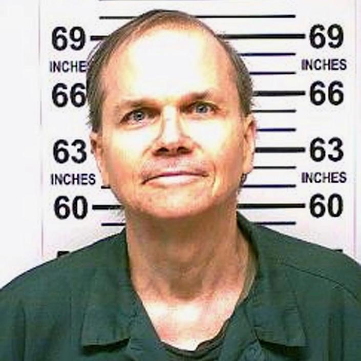 Mark David Chapman has now been denied parole 11 times - New York State Department of Corrections / AP