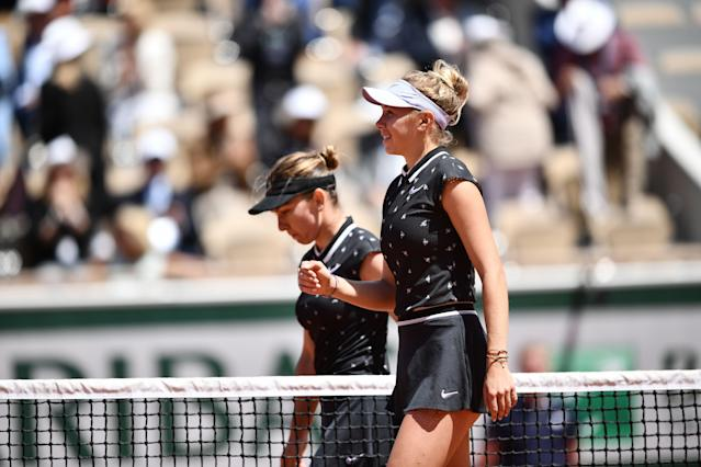 The WTA blasted a decision to put the women's semifinals, including that of Amanda Anisimova, on smaller outside courts. (Getty Images)