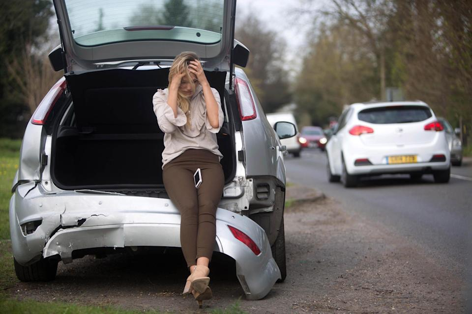 Insurance giant Direct Line notched up a hike in half-year profits amid a slump in motor claims as the pandemic saw fewer drivers on the road (PA) (PA Archive)