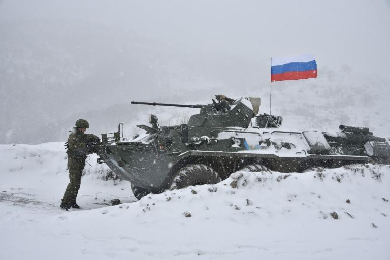 Around 2,000 Russian troops are on the ground to keep the peace between Armenia and Azerbaijan
