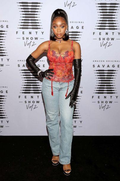 PHOTO: In this retouched image released on Oct. 1, 2020, Normani attends Rihanna's Savage X Fenty Show Vol. 2 presented by Amazon Prime Video at the Los Angeles Convention Center in Los Angeles. (Jerritt Clark/Getty Images for Savage X Fenty Show Vol. 2 Presented by Amazon Prime Video)