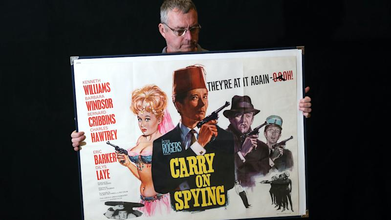 Film posters valued at more than £180k to be auctioned