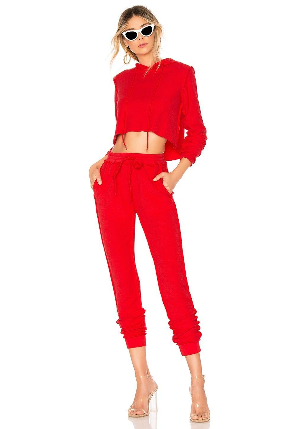 <p>This <span>Danielle Guizio DG Sweatsuit</span> ($125) is how we plan on doing Valentine's Day 2021.</p>