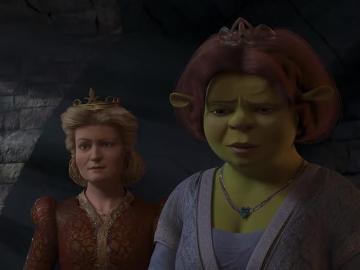 shrek the third julie andrews