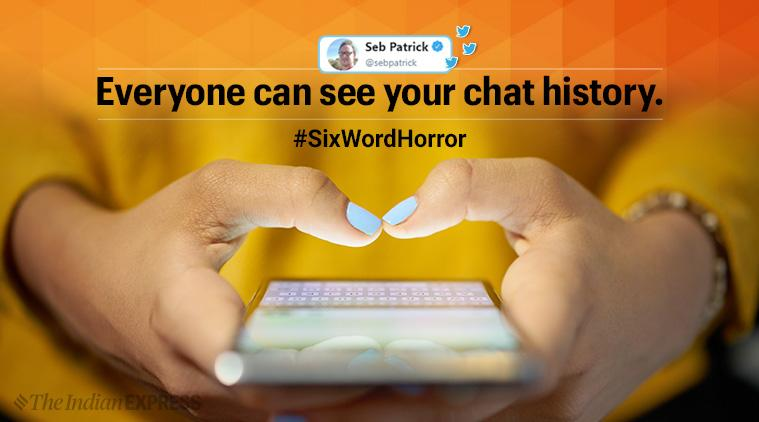 horror stories, six word horror, tiny horror tales, scary tweets, hashtag challenge, social media trends, viral news, indian express