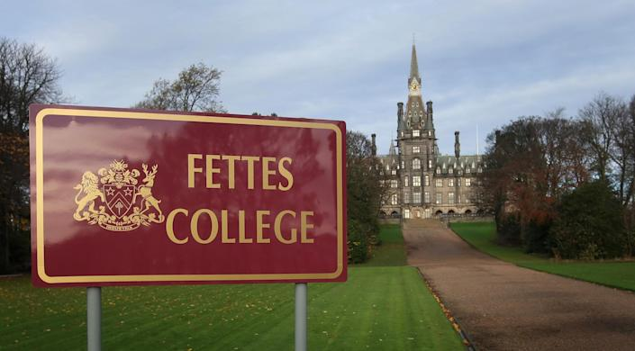 General view of the prestigious Fettes College in Edinburgh, the school attended by former Prime Minister Tony Blair, that has expelled four pupils after they were caught with drugs.   (Photo by Danny Lawson/PA Images via Getty Images)