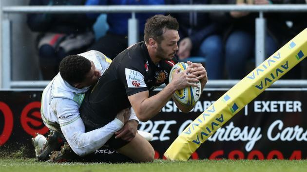 <p>Rugby Union: Champions Chiefs move seven points clear with win over Sarries</p>