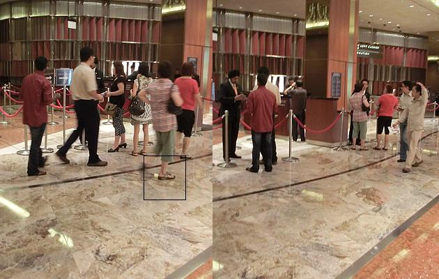 """""""Fit Flop Aunties"""" are a common sight at the MBS Casino (Yahoo! Photos)"""