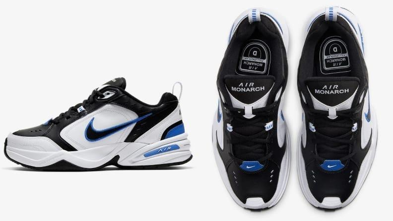 The Air Monarch is a highly popular walking shoe from Nike.