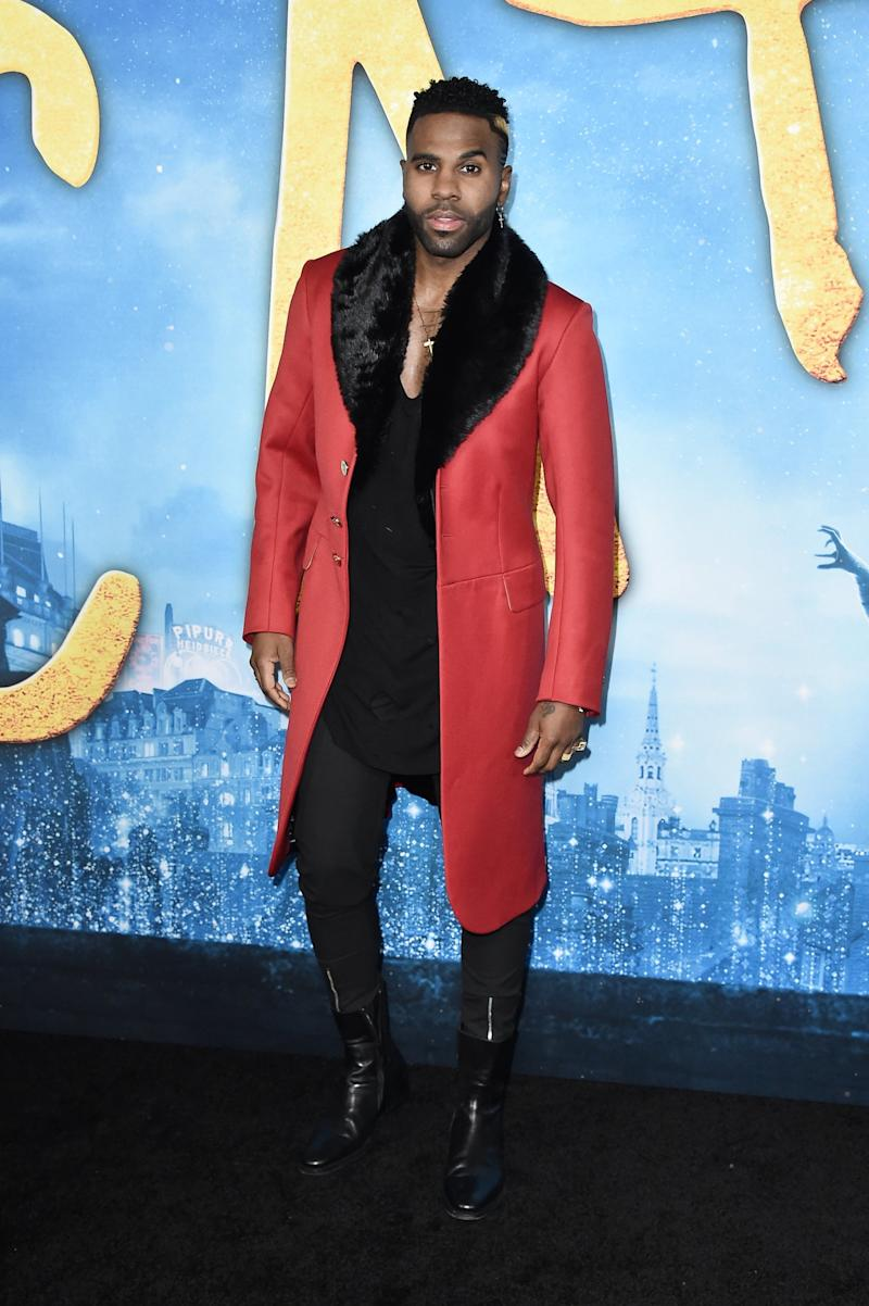 Big screen debut: Derulo had high hopes for Cats (Getty Images)