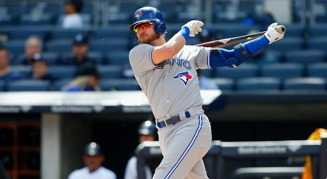 The Toronto Blue Jays have a major decision looming with slugger Josh Donaldson. (Photo by Jim McIsaac/Getty Images)