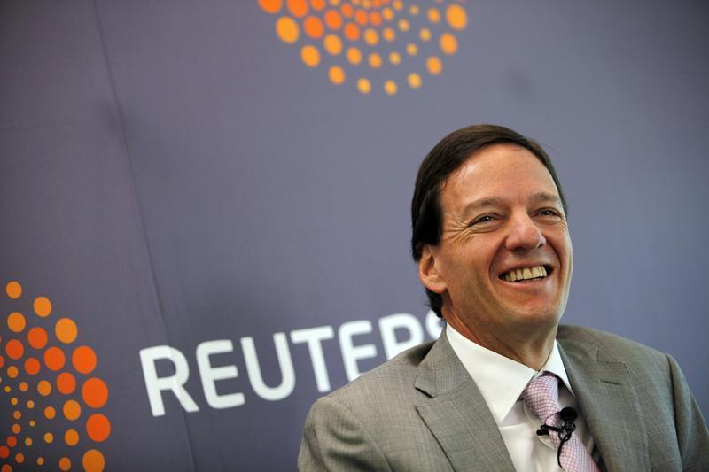 Director of finance of America Movil Carlos Garcia Moreno attends the Reuters Latin American Investment Summit in Mexico City