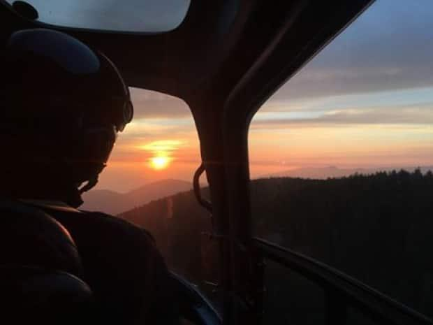 North Shore Rescue crews searched Friday evening and early Saturday for a missing hiker on Mount Fromme, located east of the Grouse Mountain ski area in North Vancouver. His body was found Saturday morning.  (File photo/North Shore Rescue/Facebook - image credit)