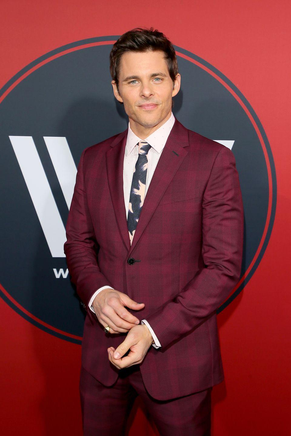 """<p>James Marsden was just your average fraternity brother, until he became a model and A-list actor. Marsden attended Oklahoma State University, where he <a href=""""https://www.theodysseyonline.com/20-famous-men-who-fraternities"""" rel=""""nofollow noopener"""" target=""""_blank"""" data-ylk=""""slk:pledged Delta Tau Delta"""" class=""""link rapid-noclick-resp"""">pledged Delta Tau Delta</a>. </p>"""