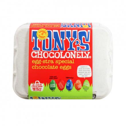 Tony's Chocolonely Egg-Stra Special Chocolate Eggs. Image via Natura Market.