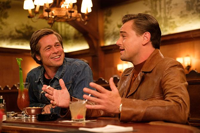 Brad Pitt y Leonardo DiCaprio en Érase una vez en... Hollywood (Autor: Andrew Cooper; © 2019 CTMG, Inc. All Rights Reserved)