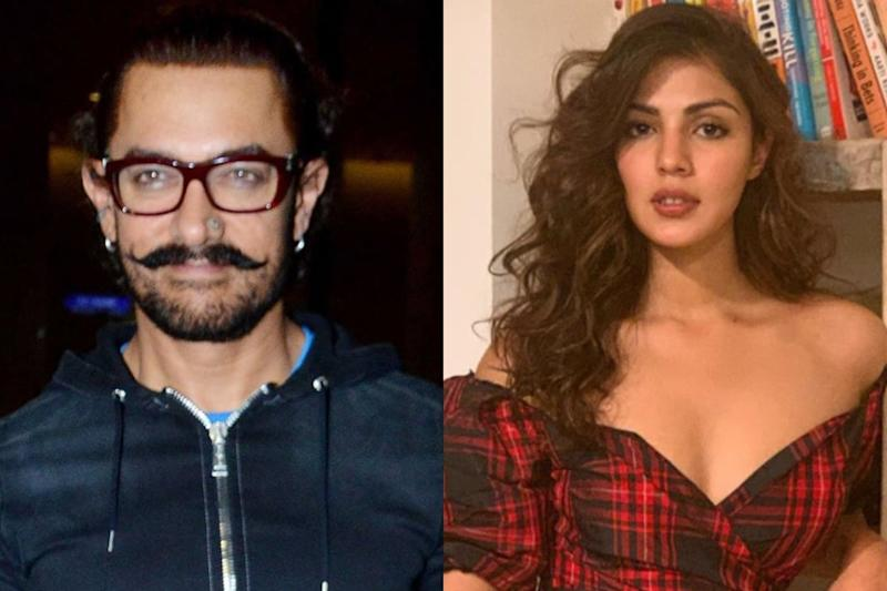 Rhea Chakraborty Called Aamir Khan Once; He Reverted to Her Via 3 Texts, Suggest Call Records