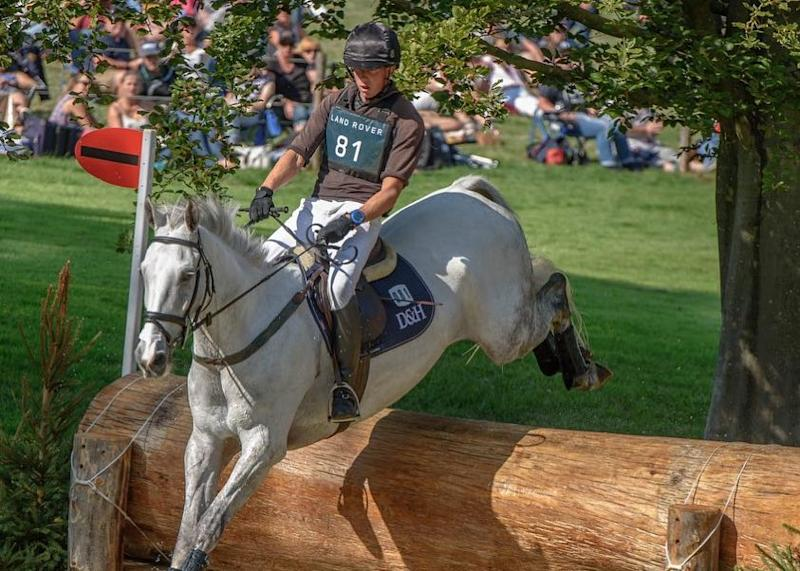 Richard Jones is hoping for a successful return to the Land Rover Burghley Horse Trial (picture supplied by Richard Jones)