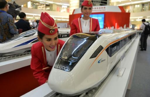 China, Indonesia sign $5.5 bn high-speed rail deal