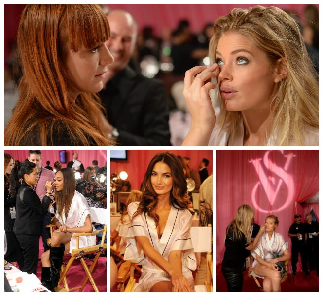 victoria's secret fashion show 2013, makeup, beauty, hair, jourdan dunn