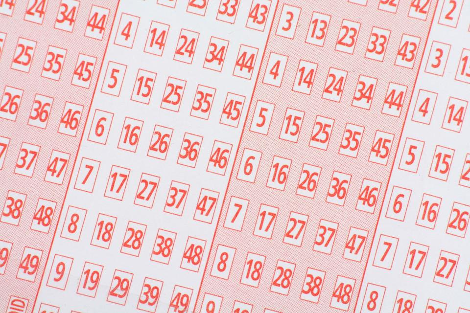 Pictured is a generic photo of a lottery ticket. The Lottery Office offers syndicates which allow people to share the prize, but it's cheaper and increases your chances of winning