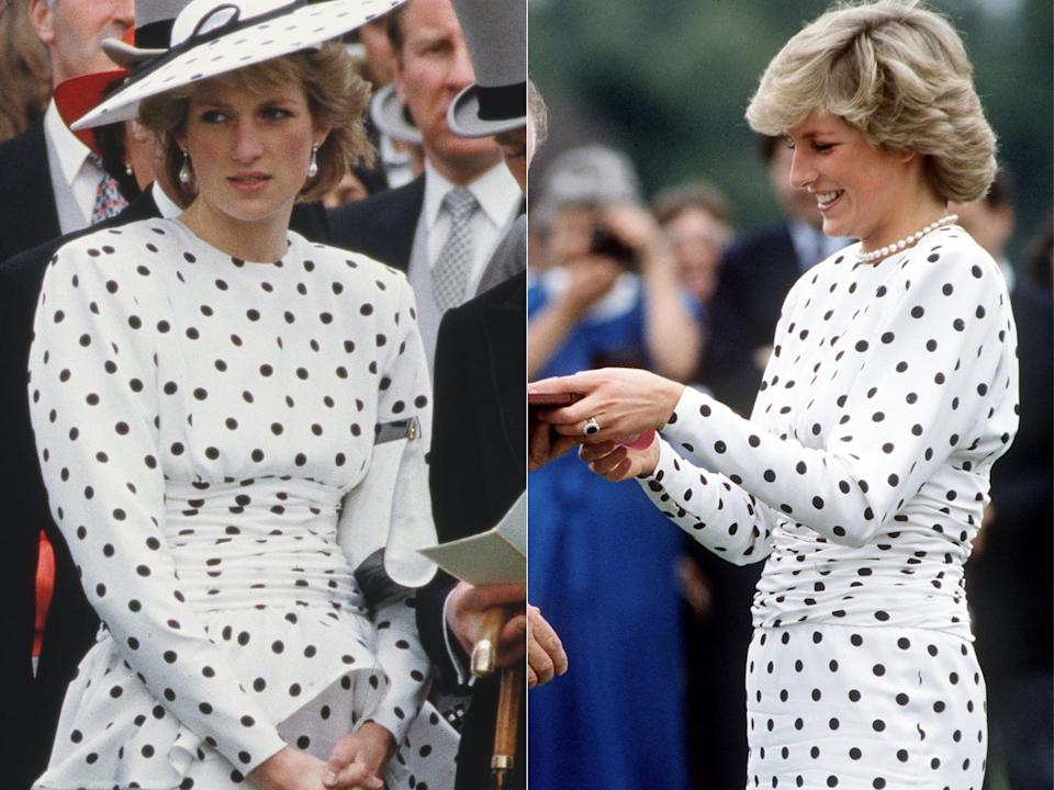 princess diana victor edelstein dress