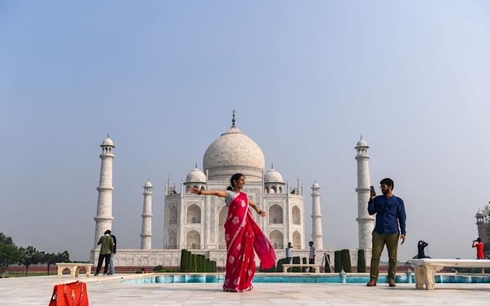 The Taj Mahal reopened to visitors on September 21 in a symbolic business-as-usual gesture