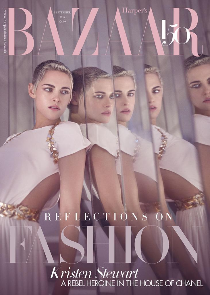 Kristen Stewart covers Harper's Bazaar U.K. (Photo: Tom Craig/Harper's Bazaar)