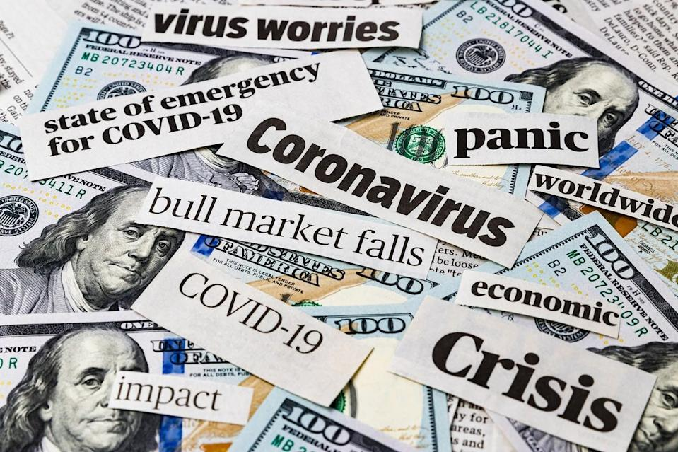 Fear and Uncertainty: S&P 500 Plunging on Pandemic, Economic Woes