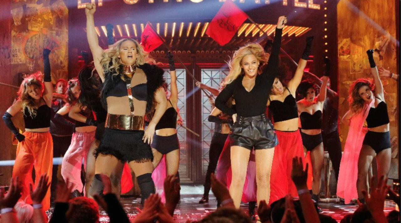 Beyonce Joins Channing Tatum For